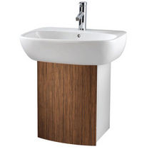 contemporary wall-mounted washbasin cabinet MODA Twyford Bathrooms