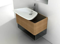 contemporary wall-mounted washbasin cabinet DALEK  PLAVISDESIGN