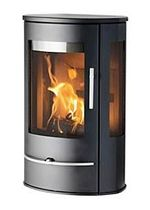 contemporary wall-mounted wood-burning stove LOTUS LIVA 4G Broseley Fires