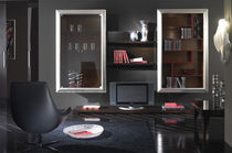 contemporary wall shelf with glass pane FOUR SEASONS Stilema