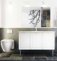 contemporary washbasin cabinet CLASSIC WHITE HTH Køkkener