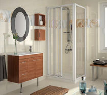 contemporary washbasin cabinet SERIE 35 WALNUT 800 Salgar