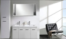 contemporary washbasin cabinet INFINITA LIFESTYLE VANITIES Infinita Corporation