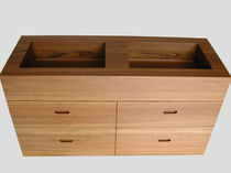 contemporary washbasin cabinet  WILLIAM GARVEY