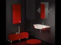 contemporary washbasin cabinet kit-set RIO 24 Gruppo Tarrini