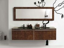 contemporary washbasin cabinet with integrated cupboard MIX LUXURY COMP.77 SOLMET