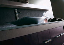 contemporary washbasin cabinet with integrated cupboard XIL karol