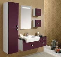 contemporary washbasin cabinet with mirror ZARA ORKA