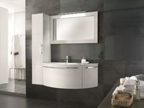 contemporary washbasin cabinet with mirror MIX CLASSIC COMP.08  SOLMET