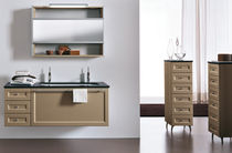 contemporary washbasin cabinet with mirror ZECCHINO : AB 304 RAB ARREDOBAGNO