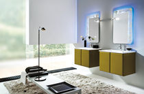 contemporary washbasin cabinet with mirror DOLLARO : AB 820 RAB ARREDOBAGNO