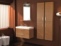 contemporary washbasin cabinet with mirror TITTRE' KENYA 8 Gruppo Tarrini