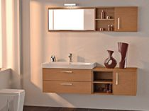 contemporary washbasin cabinet with mirror TITRE' KENYA 15 Gruppo Tarrini