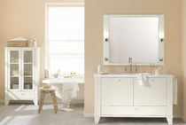 contemporary washbasin cabinet with mirror GRANO Burg