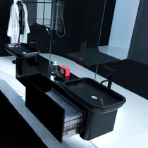 contemporary washbasin cabinet with mirror K08 by Giancarlo Vegni karol
