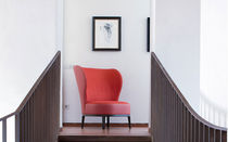 contemporary wingchair SPRING/PB by Bernhardt & Vella Potocco