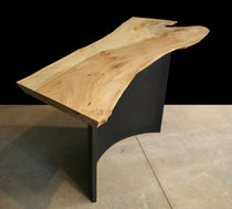 contemporary wood and metal sideboard table 0037.2 JOHN HOUSHMAND