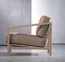 contemporary wood armchair ENGEL armchair Piet Boon Collection