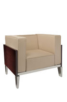 contemporary wood armchair SOFA 150 BY RAFFY DESIGN BILLARDS CHEVILLOTTE