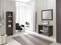 contemporary wood bathroom  MACRAL