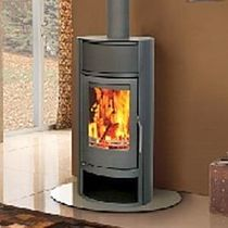 contemporary wood-burning boiler stove EVOLUTION 8 Broseley Fires