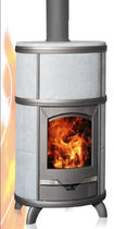 contemporary wood-burning boiler stove ECLIPS AQUA Altech