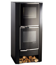 contemporary wood-burning boiler stove TERMOSTUFA ZK60F de Manincor