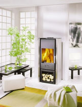 contemporary wood-burning stove CORSIER CHEMINEES PHILIPPE
