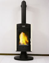 contemporary wood-burning stove KALERN CHEMINEES PHILIPPE