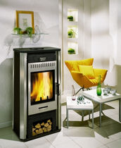 contemporary wood-burning stove PALEZIEUX CHEMINEES PHILIPPE
