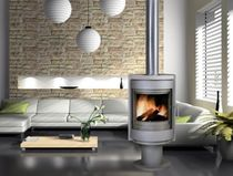 contemporary wood-burning stove 410 FLAM N' CO