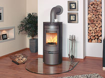 contemporary wood-burning stove HARK 80 GT ECOPLUS Hark GmbH & Co. KG