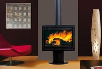 contemporary wood-burning stove DELPHINE Wanders