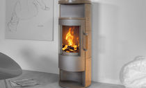 contemporary wood-burning stove BOLERO Wanders