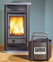 contemporary wood-burning stove ELEGANZA 44/108  Flam