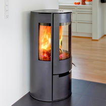 contemporary wood-burning stove ADURO 9 ADURO A/S