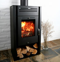 contemporary wood-burning stove ASGÅRD 1 ADURO A/S