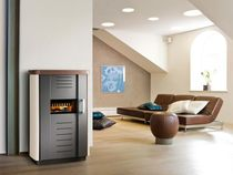 contemporary wood-burning stove POTSDAM HAAS + SOHN Ofentechnik GmbH