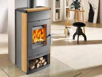 contemporary wood-burning stove MONTEGROTTO HAAS + SOHN Ofentechnik GmbH