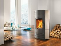 contemporary wood-burning stove I-2060 HAAS + SOHN Ofentechnik GmbH