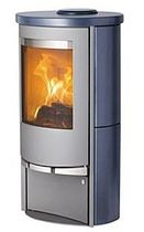 contemporary wood-burning stove LOTUS 9140 Broseley Fires