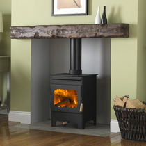 contemporary wood-burning stove DEBDALE 9104 Burley
