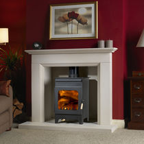 contemporary wood-burning stove HOLLYWELL 9105 Burley