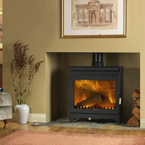 contemporary wood-burning stove WAKERLEY 9112 Burley