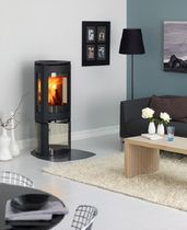 contemporary wood-burning stove (cast iron) F 376 by Hareide Designmill Jøtul