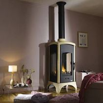 contemporary wood-burning stove (cast iron and steel) CARTHAGE 3  GODIN
