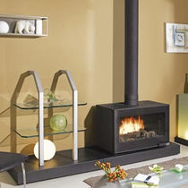 contemporary wood-burning stove (cast iron and steel) VOYENNE GODIN