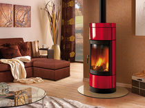 contemporary wood-burning stove (ceramic) FORTUNA Nordica