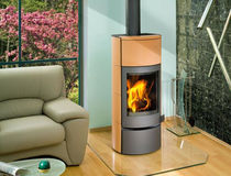 contemporary wood-burning stove (ceramic) AVILA ROMOTOP