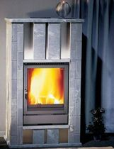 contemporary wood-burning stove (soapstone) MT 57/75-150 Flam